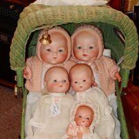 Bayberry Antique Dolls logo