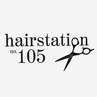 Hair Station 105 logo