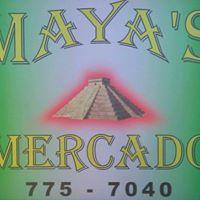 Maya's Mercado logo