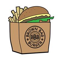Brown Bag Burger logo