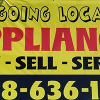 Going Local Appliances & Thrift logo