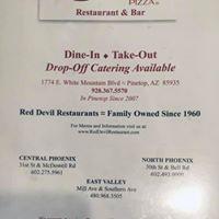 Red Devil Pizza logo