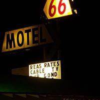 66 Motel logo
