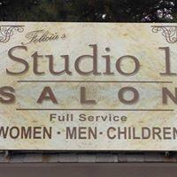 Felicia's Studio 1 Salon logo