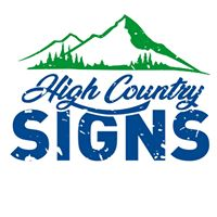 High Country Signs logo