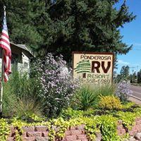 Ponderosa RV Resort logo