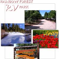 Rainbow Forest RV Park logo