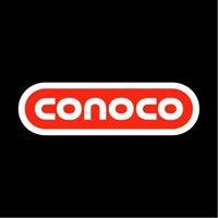 Mustang/Conoco Gasoline & Convenience Store logo