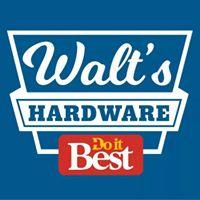 Walt's Hardware logo