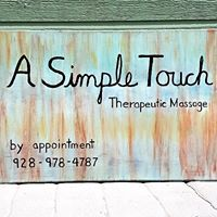 A Simple Touch Therapeutic Massage logo