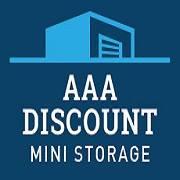 AAA Discount Mini Storage logo