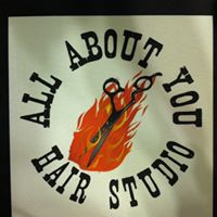 All About You Hair Studio logo