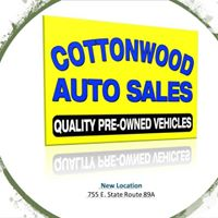 Cottonwood Auto Sales logo