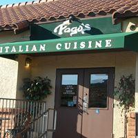 Pago's Pizzeria & Italian Cuisine logo