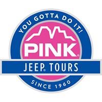Pink Jeep Tours logo