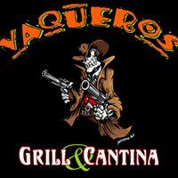 Vaqueros Grill And Cantina logo