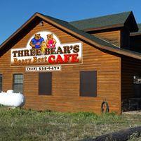 Three Bears Cafe logo