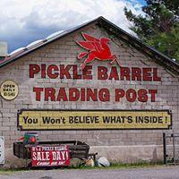 Pickle Barrel Trading Post logo