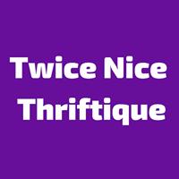 Twice Nice Thriftique logo