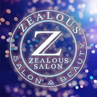 Zealous Salon And Beauty logo