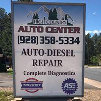 High Country Auto Center logo