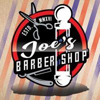 Joe's Barbershop logo