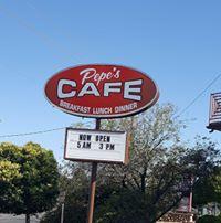 Pepe's Cafe logo
