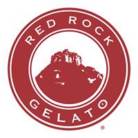 Red Rock Gelato logo