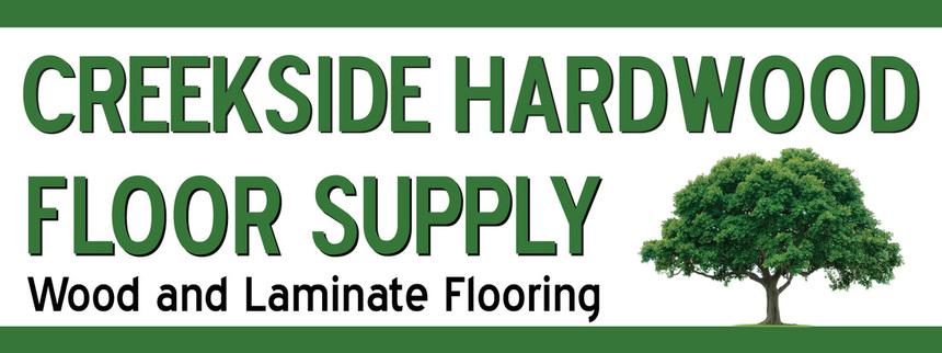 Creekside Hardwood Floor Supply logo