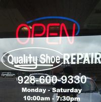 Quality Shoe Repair logo