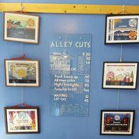 Alley Cats Haircutting Salon logo