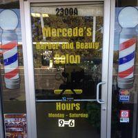 Mercede's Barber & Beauty logo