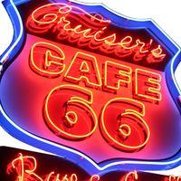 Cruiser's Route 66 Cafe logo