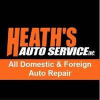 Heath's Auto Service logo