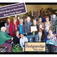 Hodgepodge Thrift Store logo