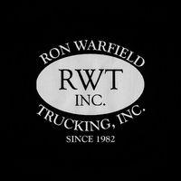 Ron Warfield Trucking inc logo