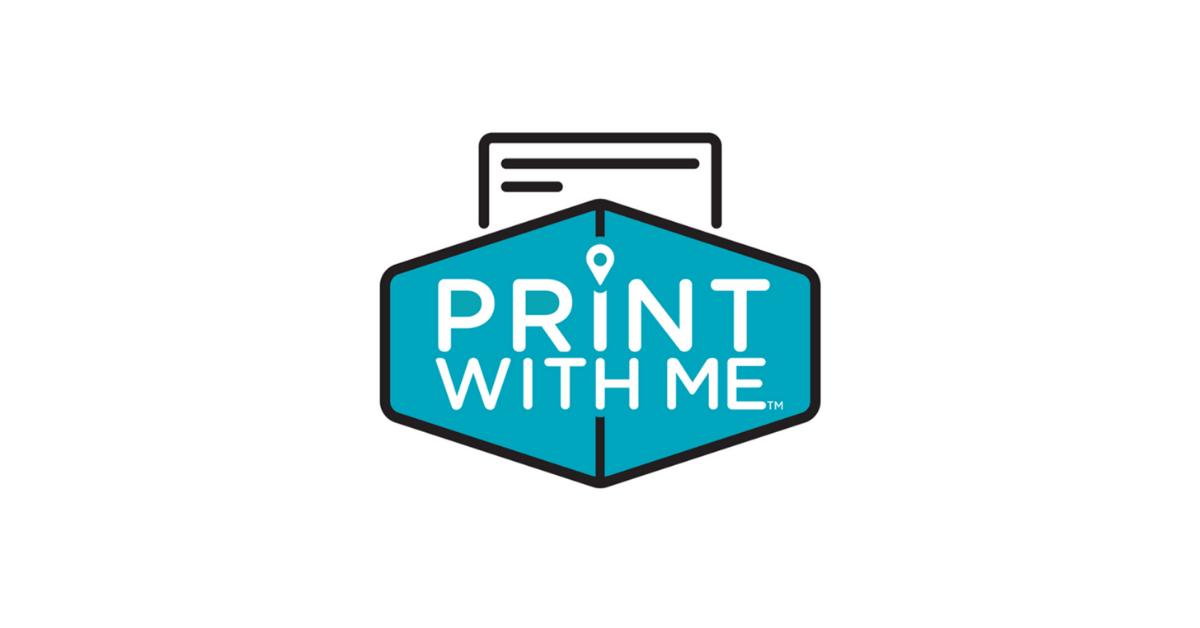 Print With Me Printer at Kickstand Kafe logo