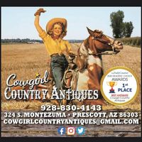 Cowgirl Country Antiques logo