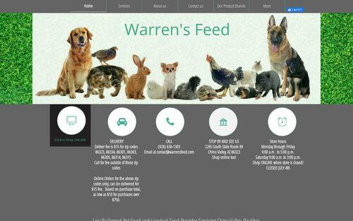 Warren's Feed logo