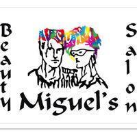 Miguel's Beauty Salon logo