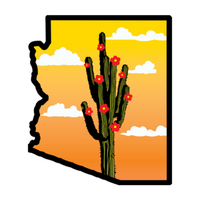 Arizona Flower Shop logo