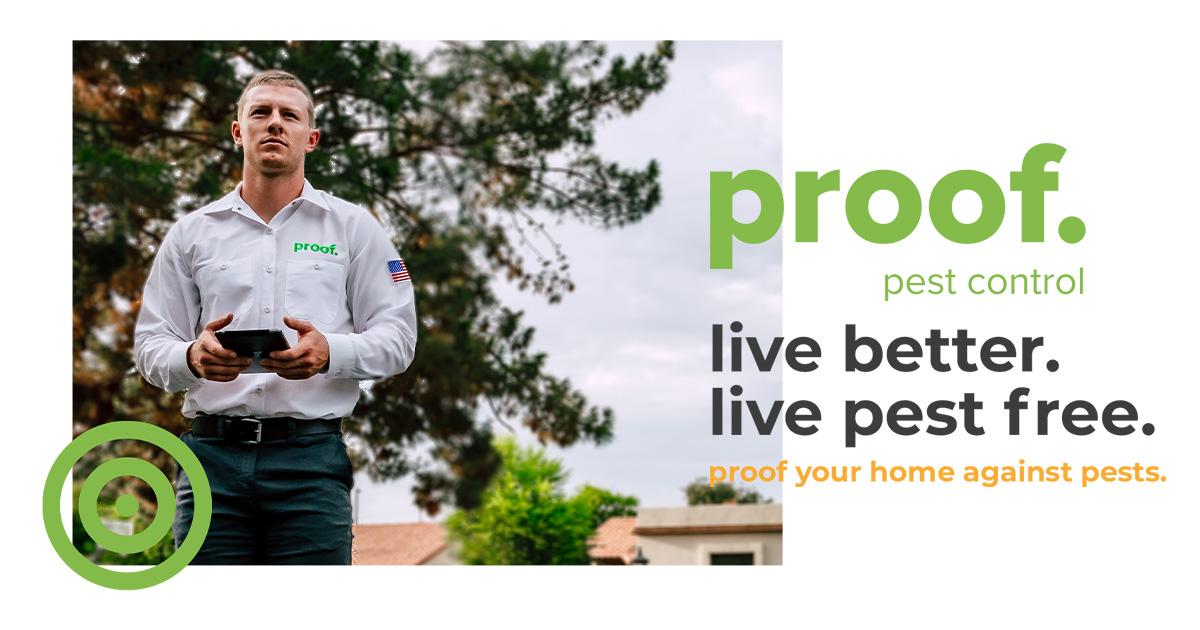 proof Pest Control logo