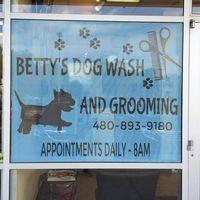 Betty's Dog Wash & Grooming logo