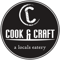 Cook & Craft - a locals eatery logo