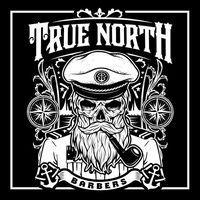 True North Barber Shop logo