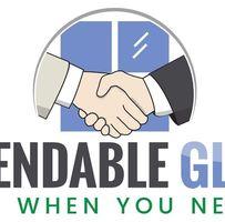 Dependable Glass logo