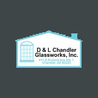 D & L Chandler Glassworks logo