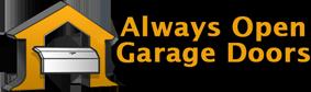 A Always Open Garage Doors logo