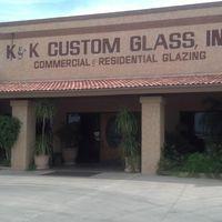 K & K Custom Glass Inc logo