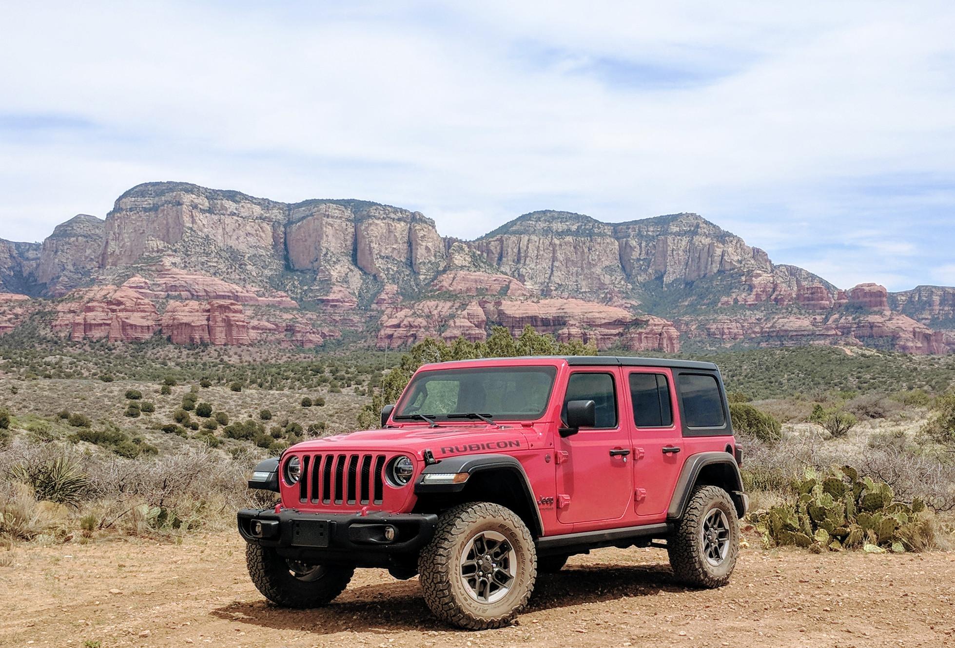Red Rock Rubicon Jeep Rentals Sedona logo